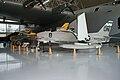 North American FJ-3 Fury Republic F-84F Thunderstreak LSide EASM 4Feb2010 (14404518589).jpg