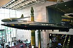 North American X-15 - Bell XP-59A Airacomet - SS-20 - Smithsonian Air and Space Museum - 2012-05-15 (7275639996).jpg