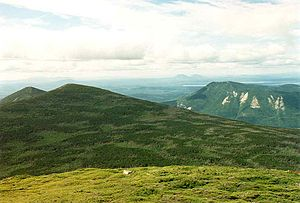 North Brother - Image: North Brother and Fort Mts Maine