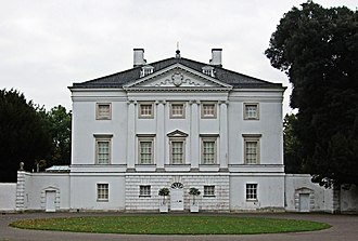 Marble Hill House - Marble Hill House, North (town) front, with pilasters