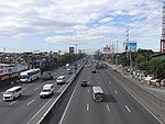 North Luzon Expressway in Balintawak, Quezon City.