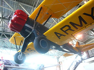 Gus McLeod - McLeod's Stearman in the College Park Aviation Museum