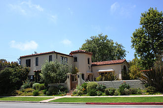Santa Monica neighborhoods - Estate North of Montana, Santa Monica, CA