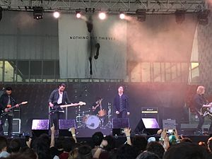 Nothing but Thieves live at Mad Cool Festival 2016