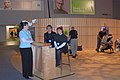 Novell BrainShare chair massage area entrance 2007.jpg