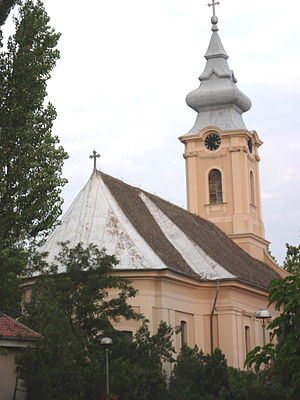 Novi Bečej - Image: Novi Bečej, Catholic Church