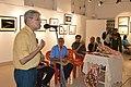 Nrisingha Prasad Bhaduri Addresses - Group Exhibition Inauguration - PAD - Kolkata 2016-07-29 5334.JPG