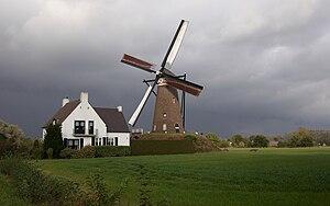 Nuenen, Gerwen en Nederwetten - Windmill in Nuenen