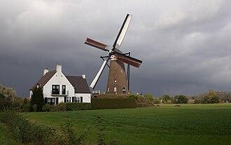 Nuenen, Gerwen en Nederwetten - Windmill De Roosdonck in Nuenen