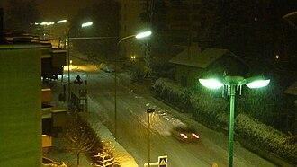 Chêne-Bourg - Streets in Chêne-Bourg