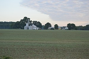 Union Township, Vanderburgh County, Indiana - Farm on Nurrenbern Road