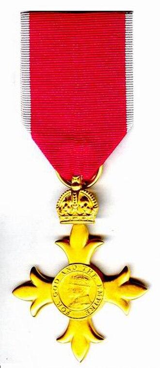 Michelle Mone, Baroness Mone - OBE insignia