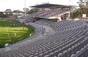 Jubilee Oval - Image: OKI Jubilee Grandstand