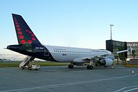 OO-SNH - A320 - Brussels Airlines