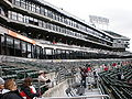 Oakland Coliseum eastern bleachers & boxes 1.JPG