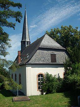 Foto auf Wikipedia von der Obbornhofener Kirche