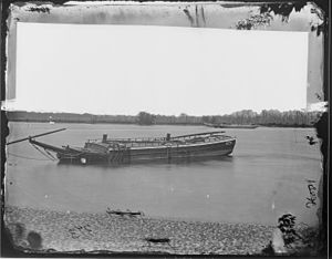 Fort Darling - Obstructions placed in the James River around Fort Darling