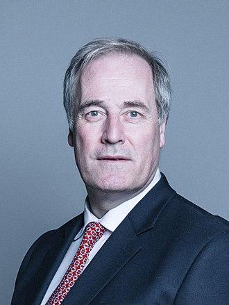 Michael Bates, Baron Bates - Image: Official portrait of Lord Bates crop 2