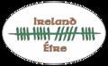 """Ogham letters for """"Éire"""" on bumper sticker - """"Éire"""" in Ogham-Schrift auf Autoaufkleber.png"""