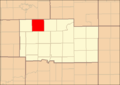Ogle County Illinois Map Highlighting Maryland Township.png