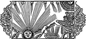 1552 in Sweden - Olaus Magnus - On the Severe Cold