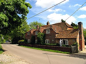 Tutts Clump - Image: Old Cottages Tutts Clump(Pam Brophy)May 2005