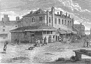 Hungerford Market - Image: Old Hungerford Market 1805