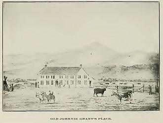 Grant-Kohrs Ranch National Historic Site - Original ranch