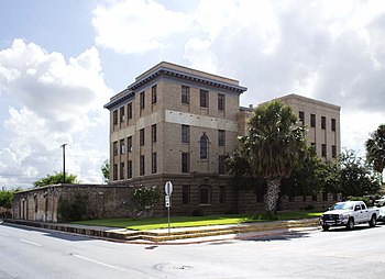 English: Old Brownsville City Jail in Brownsvi...