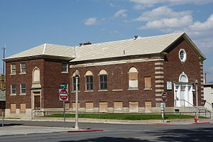 Ely L.D.S. Stake Tabernacle - Image: Old Mormon Stake House