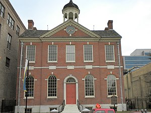Wilmington, Delaware - Old Town Hall, late-Georgian / early-Federal style
