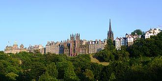 Edinburgh International Festival - The Old Town of Edinburgh from Princes Street