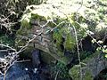 Old bridge abutment detail, Whin Gaw, Woodhill Burn, Knockentiber, Ayrshire.jpg