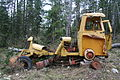 Old grader in Lund, British Columbia, Canada.jpg
