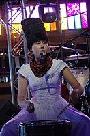 Olena Tsibulska (DakhaBrakha) (Haldern Pop 2013) IMGP6639 smial wp.jpg