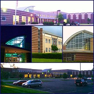 Olentangy Liberty High School - Image: Olentangy Liberty High School Facade