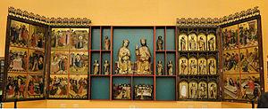 National Museum, Szczecin - Image: Oltarz gl z kosciola sw Jana w Stargardzie Szczec (1)