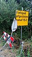 Omleiding Fietspad richting Oude Pekela afgesloten detour sign, Winschoten (2019) 09.jpg