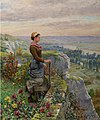 On the Terrace, Rolleboise by Daniel Ridgway Knight.jpg