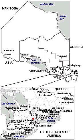 Provincia de Ontario - Wikipedia, la enciclopedia libre