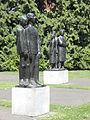 Oorlogsmonument, Volkspark, Enschede (concentratiekamp-slachtoffers).JPG