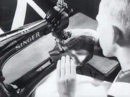 Filmpje vakopleiding schoenmaken in 1942