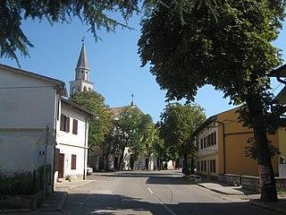 Opatje Selo Village in Littoral, Slovenia