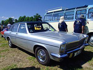 Opel Diplomat - 1972 Opel Diplomat B