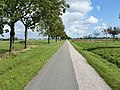 Openbare ruimte, prachtig lijnenspel in landschap, landschap Leiderdorp naderend (37934309384).jpg