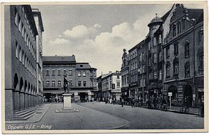 Kurt Agricola - The city of Oppeln at the time when Agricola was commander of its Landwehr and fortifications (1938)
