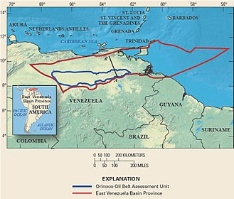 Orinoco Belt - Orinoco oil belt assessment unit, USGS