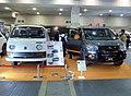 Osaka Auto Messe 2018 (439) - Mitsubishi DELICA D:5 ACTIVE GEAR (LDA-CV1W-LLHFZ3) & DELICA 75 VAN mid-year 1973.jpg