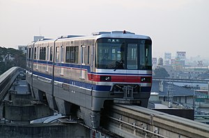 Osaka Monorail - Image: Osaka Monorail 1121