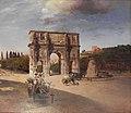 Oswald Achenbach Triumphal Arch in Rome.JPG